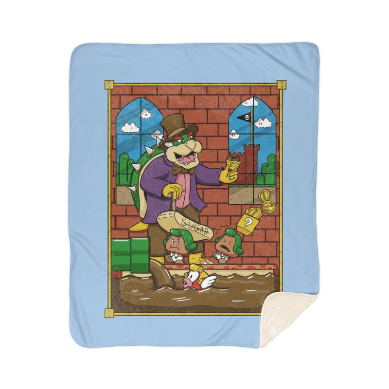 Oompa Goombas Home Blanket by Made With Awesome