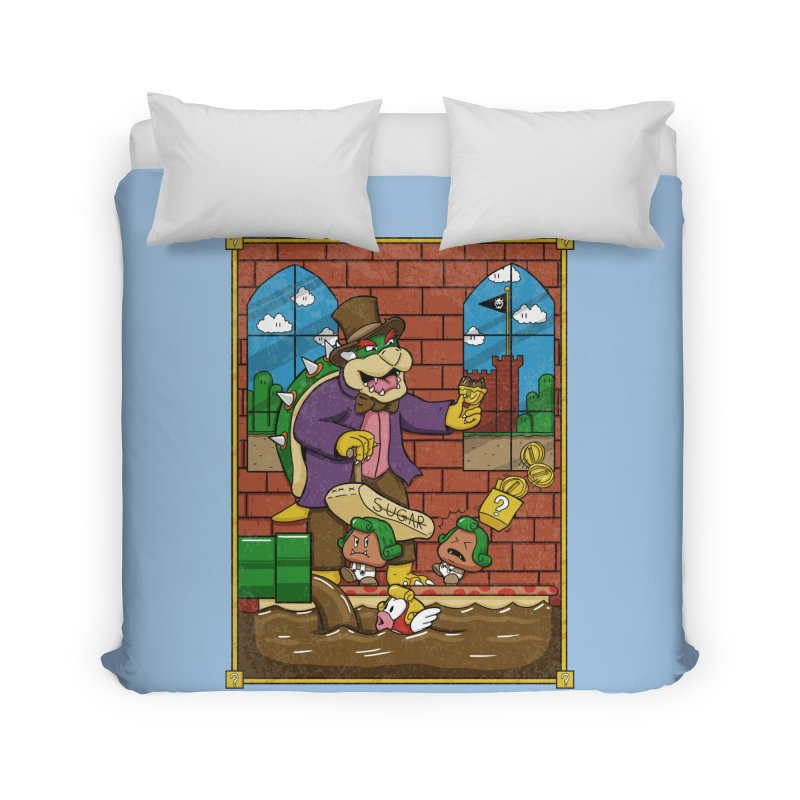 Oompa Goombas Home Duvet by Made With Awesome