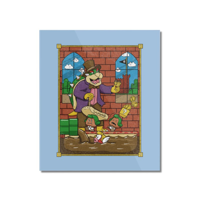 Oompa Goombas Home Mounted Acrylic Print by Made With Awesome