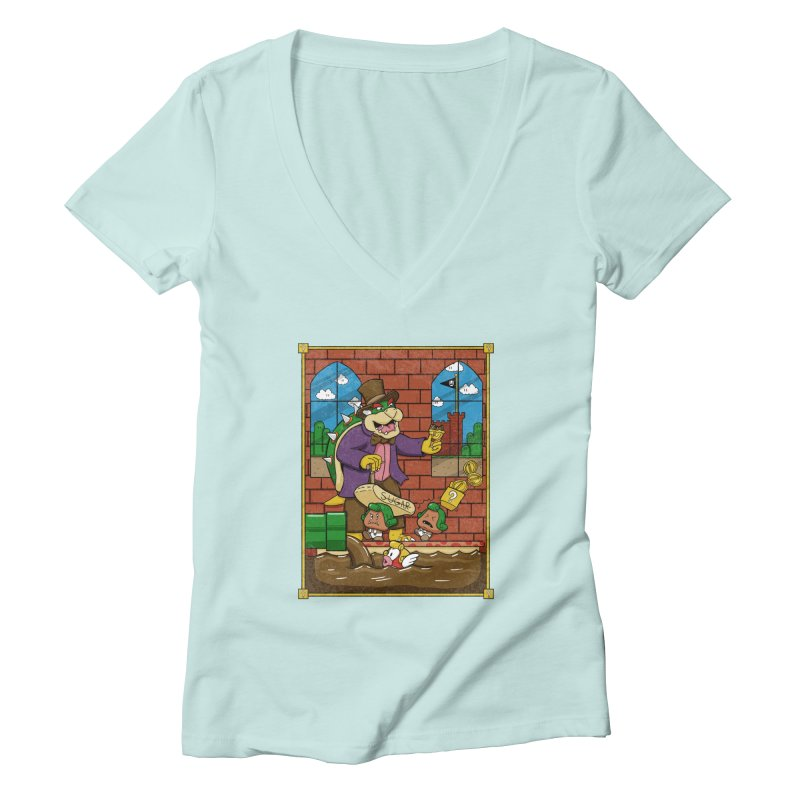 Oompa Goombas Women's V-Neck by Made With Awesome