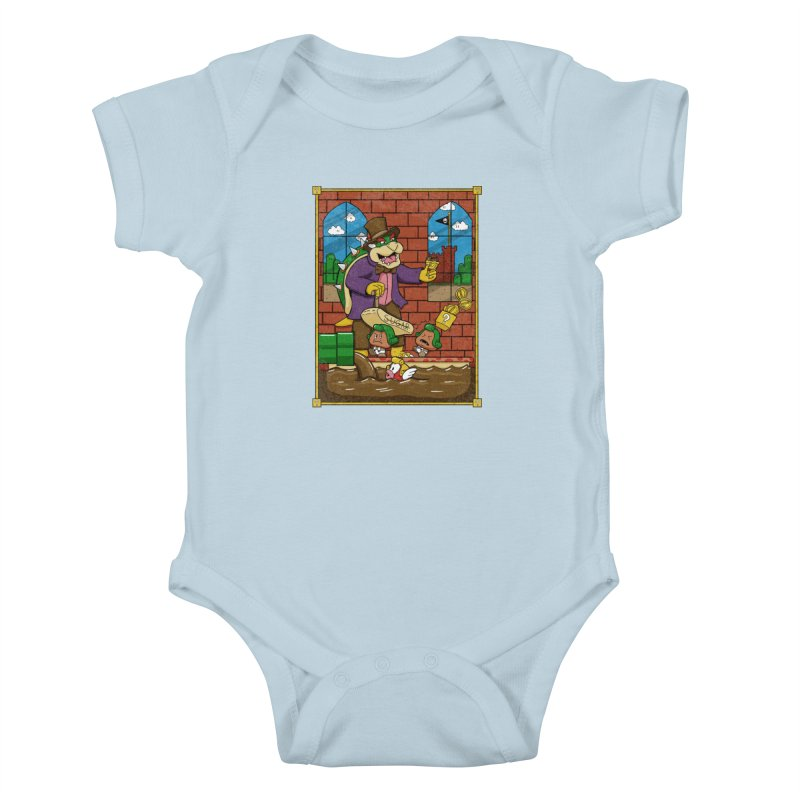 Oompa Goombas Kids Baby Bodysuit by Made With Awesome