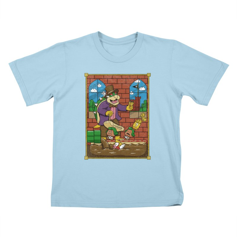 Oompa Goombas Kids T-Shirt by Made With Awesome
