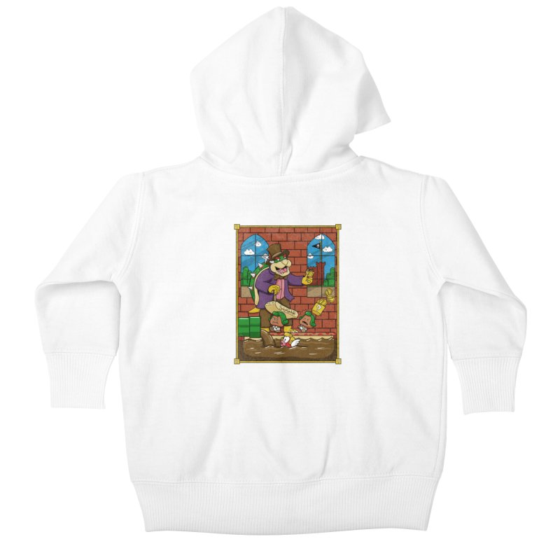 Oompa Goombas Kids Baby Zip-Up Hoody by Made With Awesome