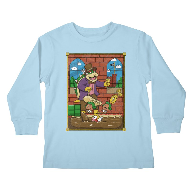 Oompa Goombas Kids Longsleeve T-Shirt by Made With Awesome
