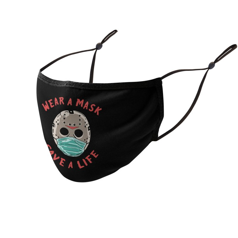 Save A Life Accessories Face Mask by Made With Awesome