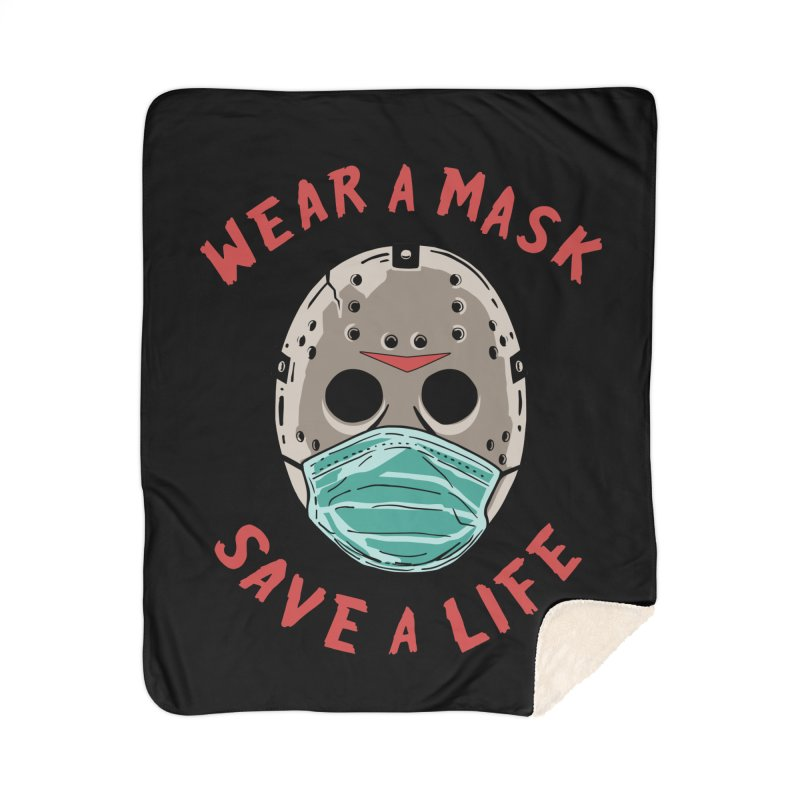 Save A Life Home Blanket by Made With Awesome
