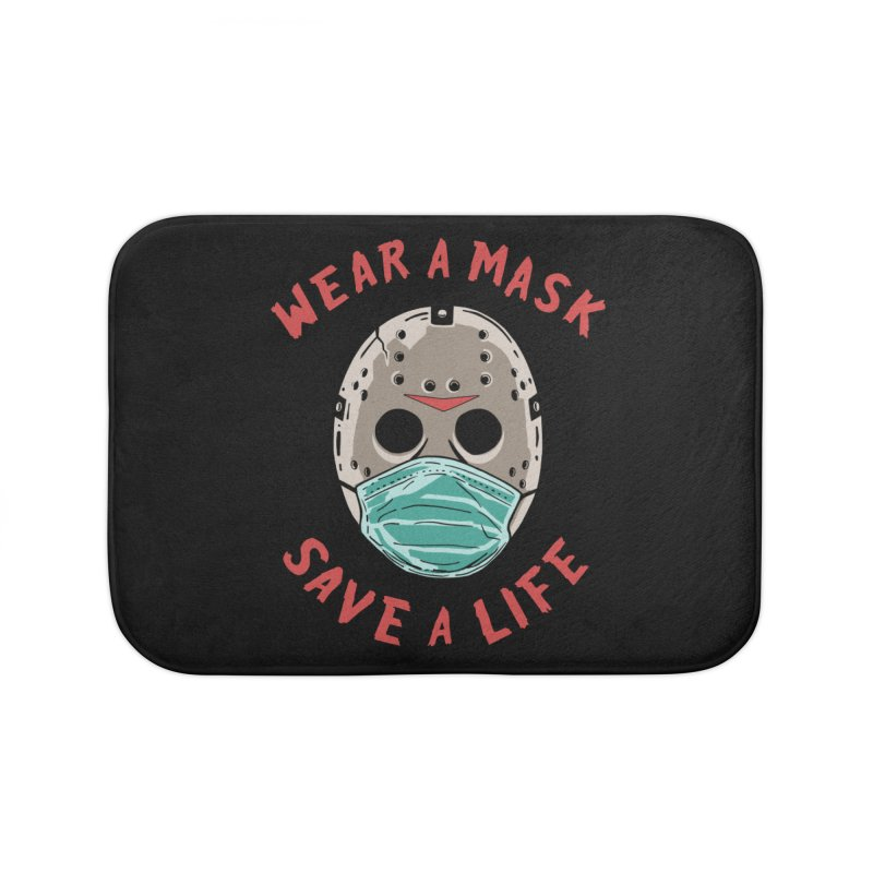 Save A Life Home Bath Mat by Made With Awesome