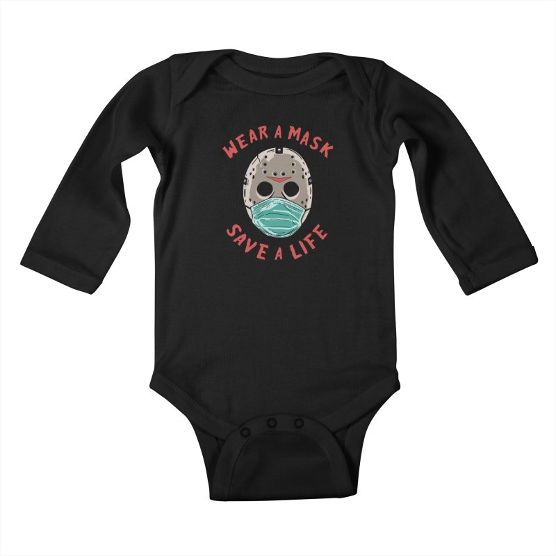 Save A Life Kids Baby Longsleeve Bodysuit by Made With Awesome