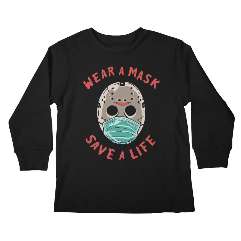 Save A Life Kids Longsleeve T-Shirt by Made With Awesome