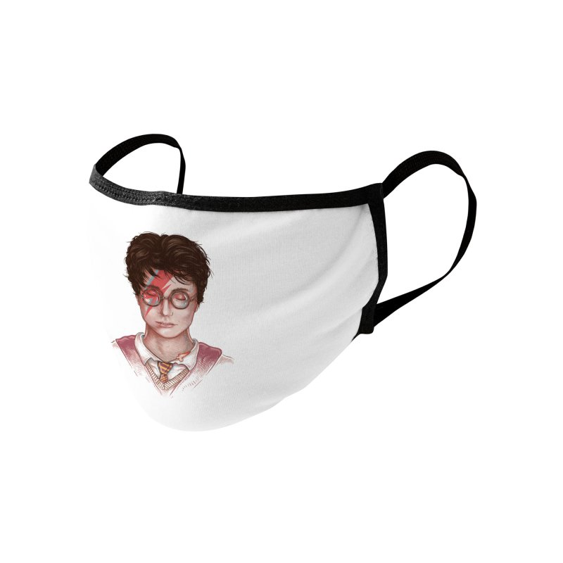 Harry Stardust Accessories Face Mask by Made With Awesome