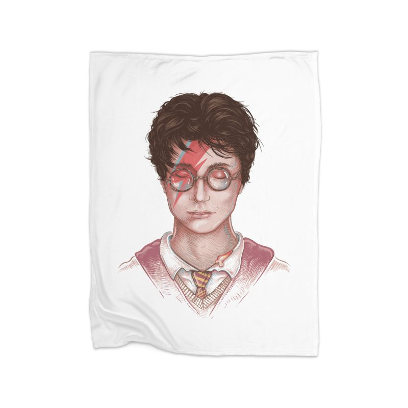 Harry Stardust Home Blanket by Made With Awesome
