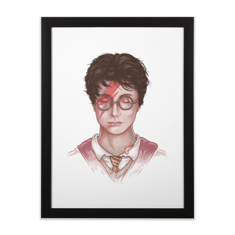 Harry Stardust Home Framed Fine Art Print by Made With Awesome