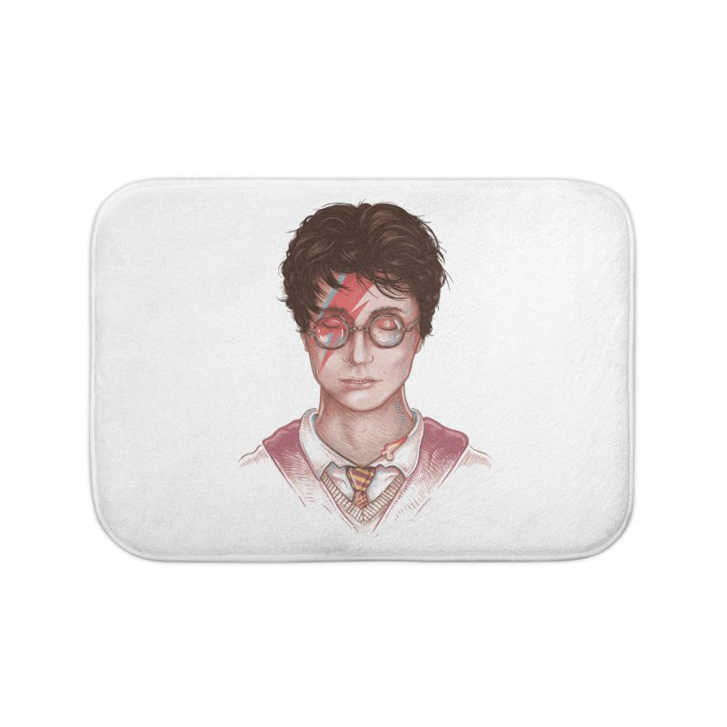 Harry Stardust Home Bath Mat by Made With Awesome