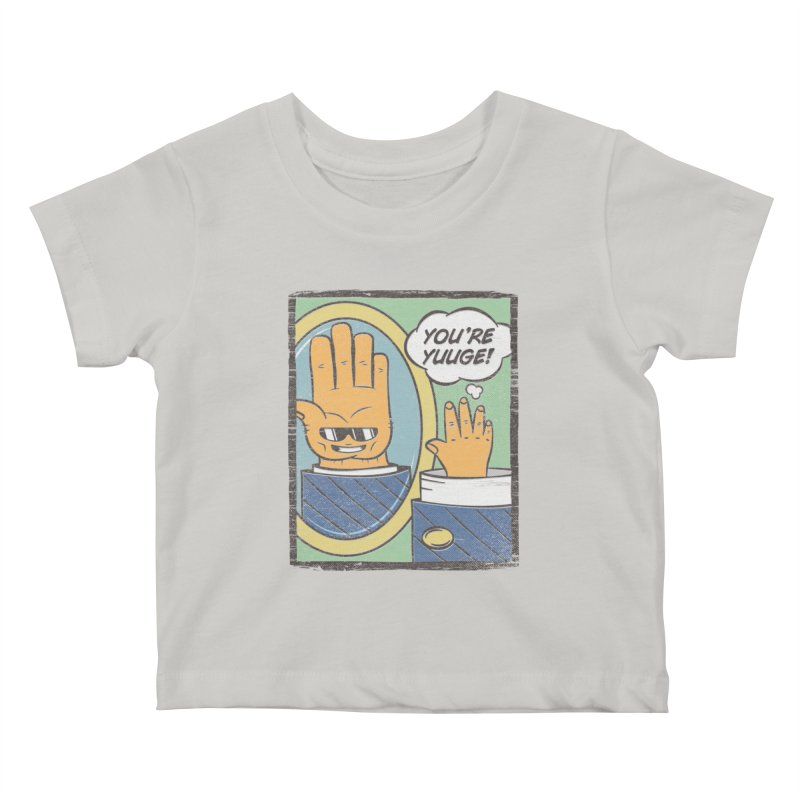 Delusions of Handeur Kids Baby T-Shirt by Made With Awesome