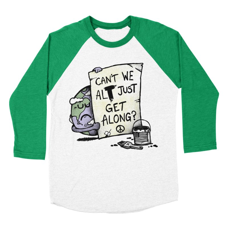 Can't We ALT Men's Baseball Triblend T-Shirt by Made With Awesome