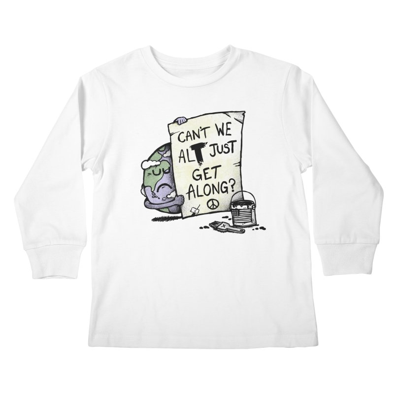 Can't We ALT Kids Longsleeve T-Shirt by Made With Awesome