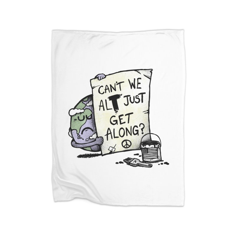 Can't We ALT Home Blanket by Made With Awesome