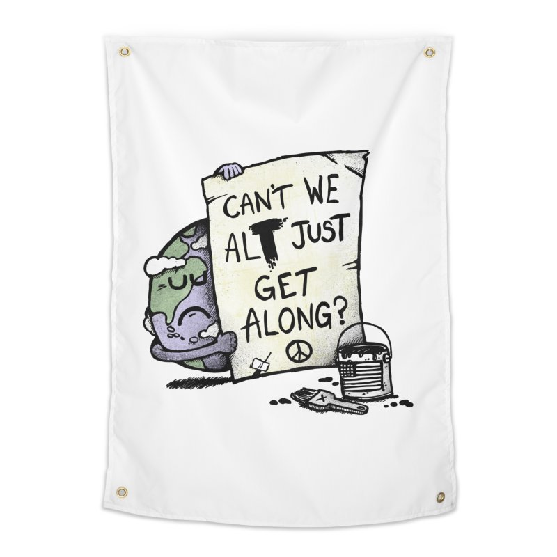 Can't We ALT Home Tapestry by Made With Awesome