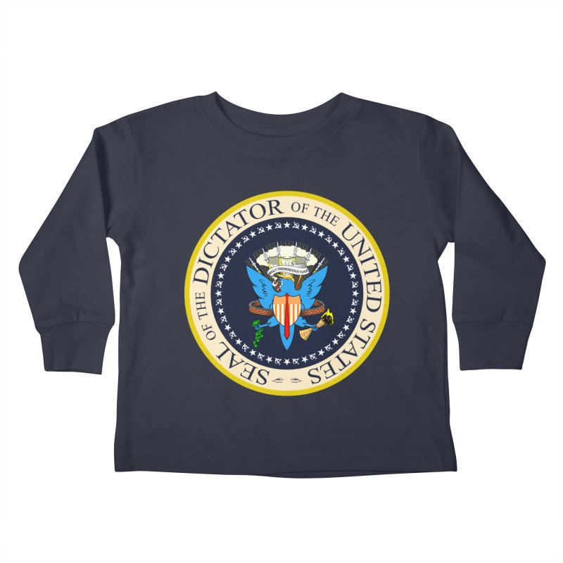 Seal of Disapproval Kids Toddler Longsleeve T-Shirt by Made With Awesome