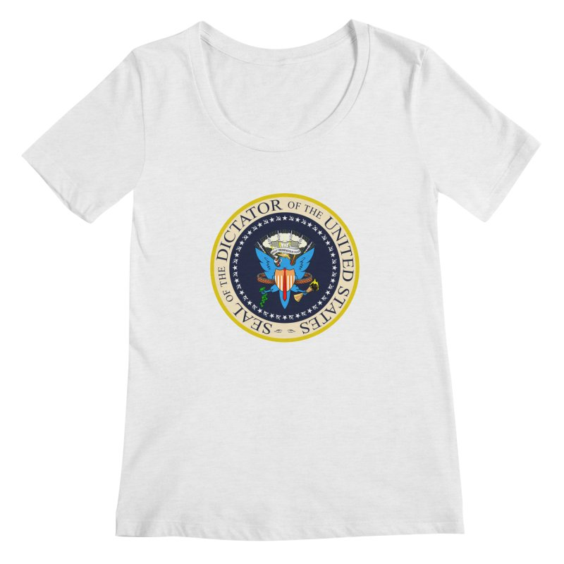 Seal of Disapproval Women's Scoopneck by Made With Awesome