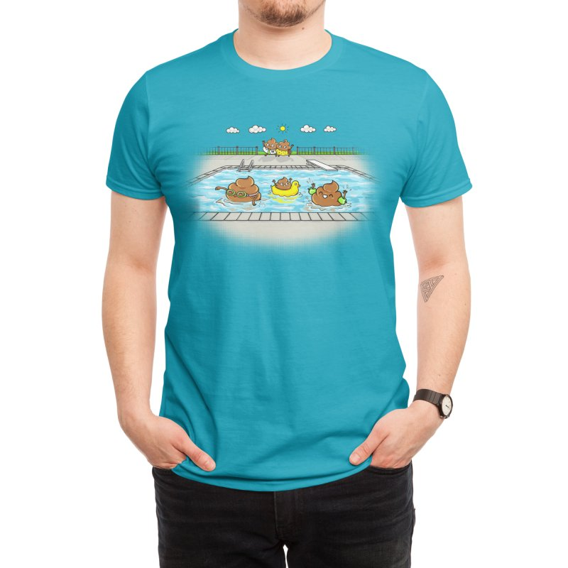 Dropping The Kids Off Men's T-Shirt by Made With Awesome