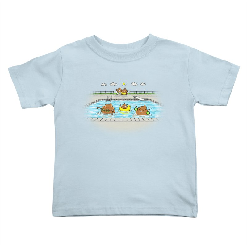 Dropping The Kids Off Kids Toddler T-Shirt by Made With Awesome
