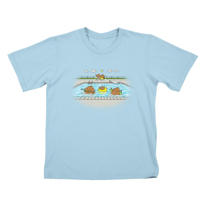 Dropping The Kids Off Kids T-Shirt by Made With Awesome