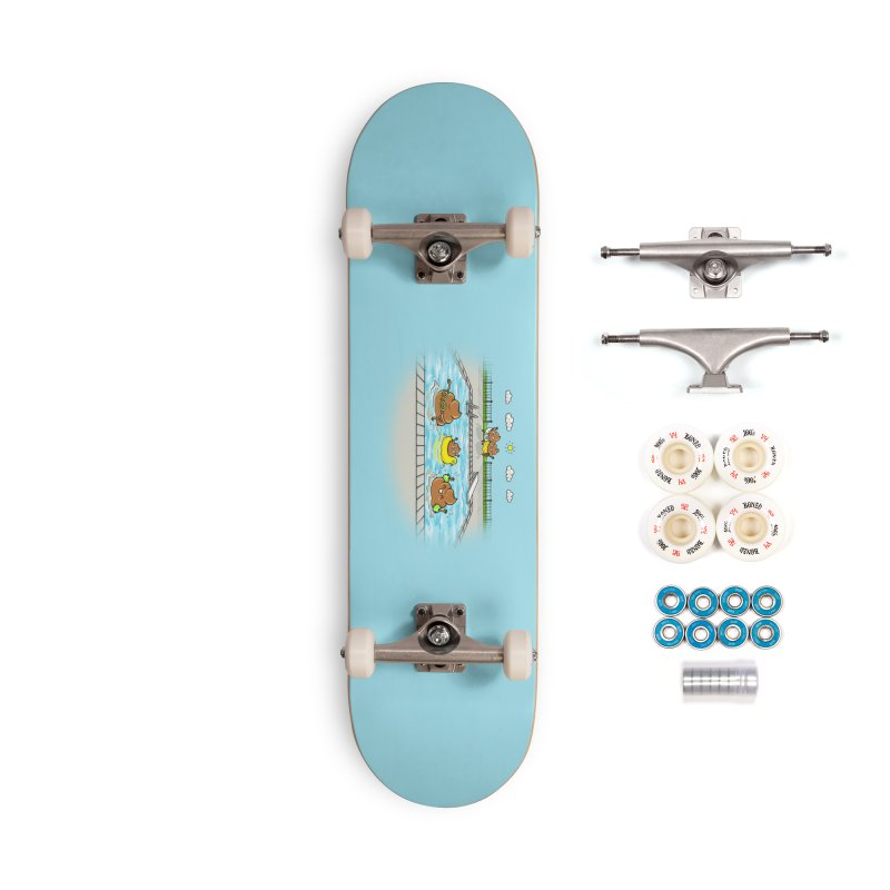 Dropping The Kids Off Accessories Skateboard by Made With Awesome