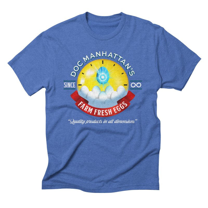 Doc Manhattan's Eggs Men's T-Shirt by Made With Awesome