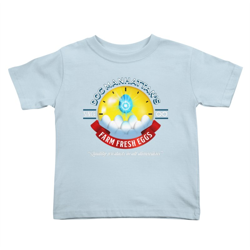 Doc Manhattan's Eggs Kids Toddler T-Shirt by Made With Awesome