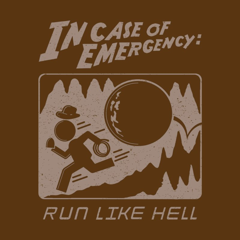 Indy Case of Emergency Men's T-Shirt by Made With Awesome