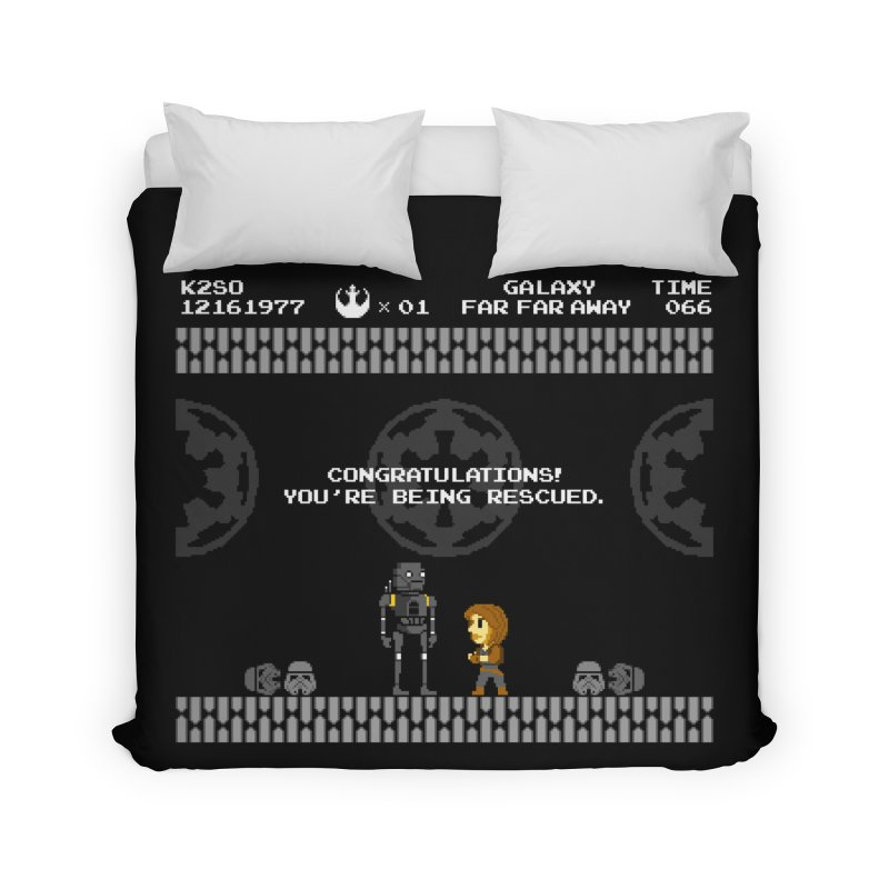 Super Rebellion Bros Home Duvet by Made With Awesome