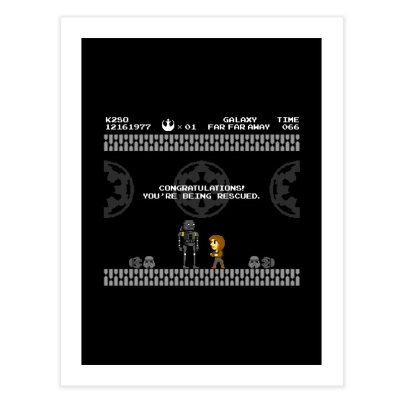Super Rebellion Bros Home Fine Art Print by Made With Awesome