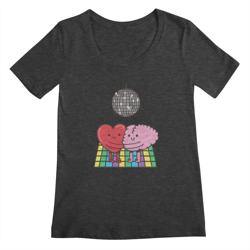 Finally At Peace Women's Scoopneck by Made With Awesome