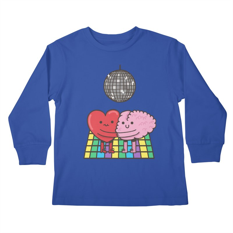 Finally At Peace Kids Longsleeve T-Shirt by Made With Awesome
