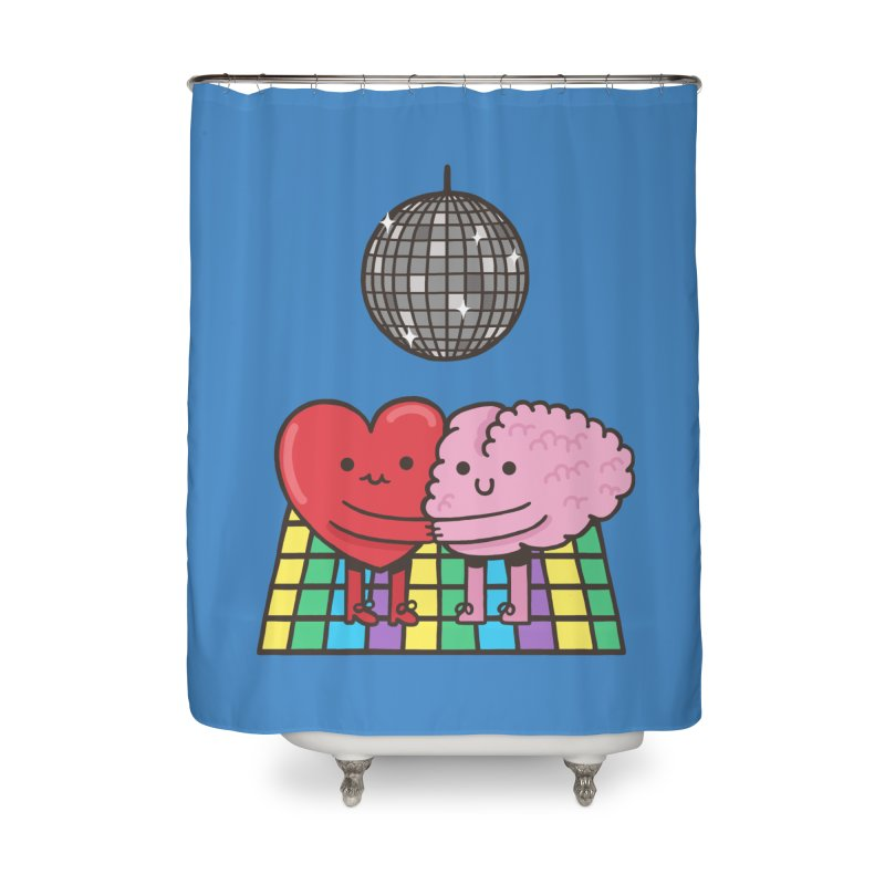 Finally At Peace Home Shower Curtain by Made With Awesome