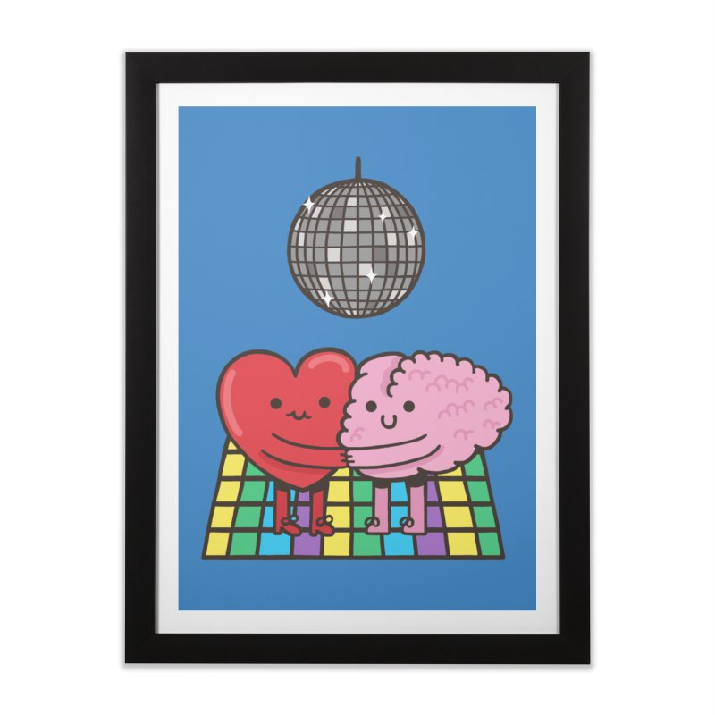 Finally At Peace Home Framed Fine Art Print by Made With Awesome
