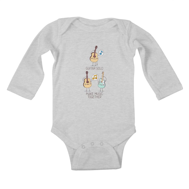 Plays Well With Others Kids Baby Longsleeve Bodysuit by Made With Awesome
