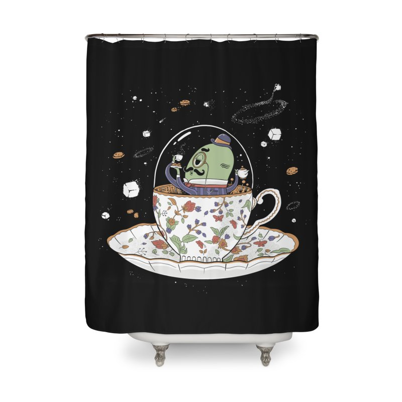 Unidentified Fancy Object Home Decor Shower Curtain by Made With Awesome