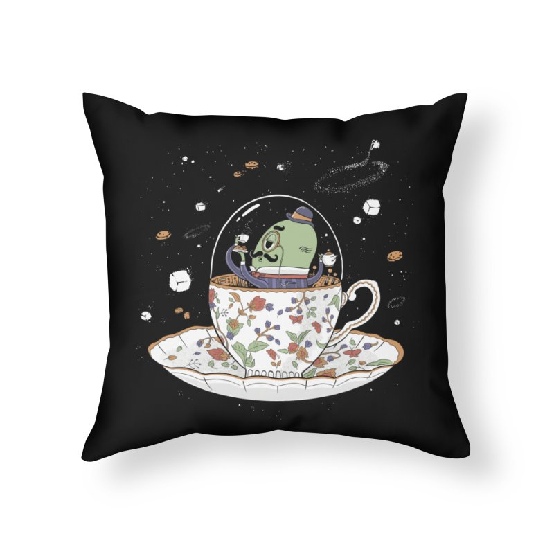 Unidentified Fancy Object Home Decor Throw Pillow by Made With Awesome