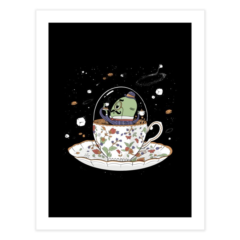 Unidentified Fancy Object Home Decor Fine Art Print by Made With Awesome