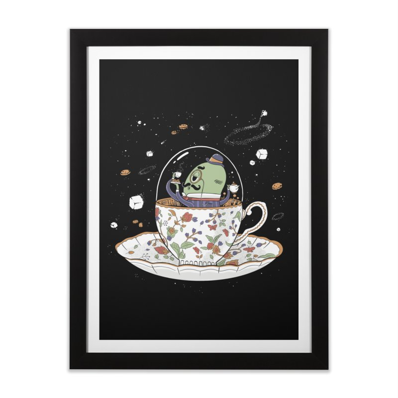 Unidentified Fancy Object Home Framed Fine Art Print by Made With Awesome