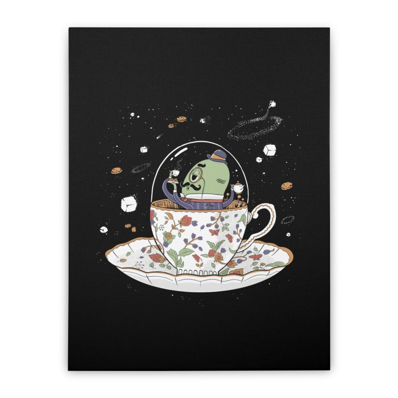 Unidentified Fancy Object Home Decor Stretched Canvas by Made With Awesome