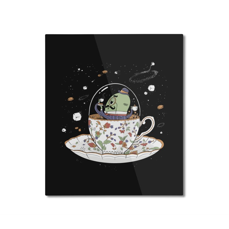 Unidentified Fancy Object Home Decor Mounted Aluminum Print by Made With Awesome