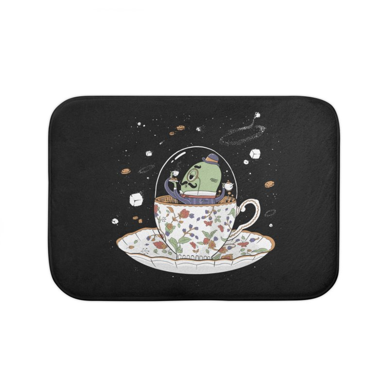 Unidentified Fancy Object Home Bath Mat by Made With Awesome