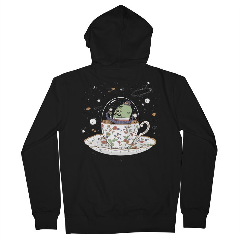 Unidentified Fancy Object Gals Zip-Up Hoody by Made With Awesome