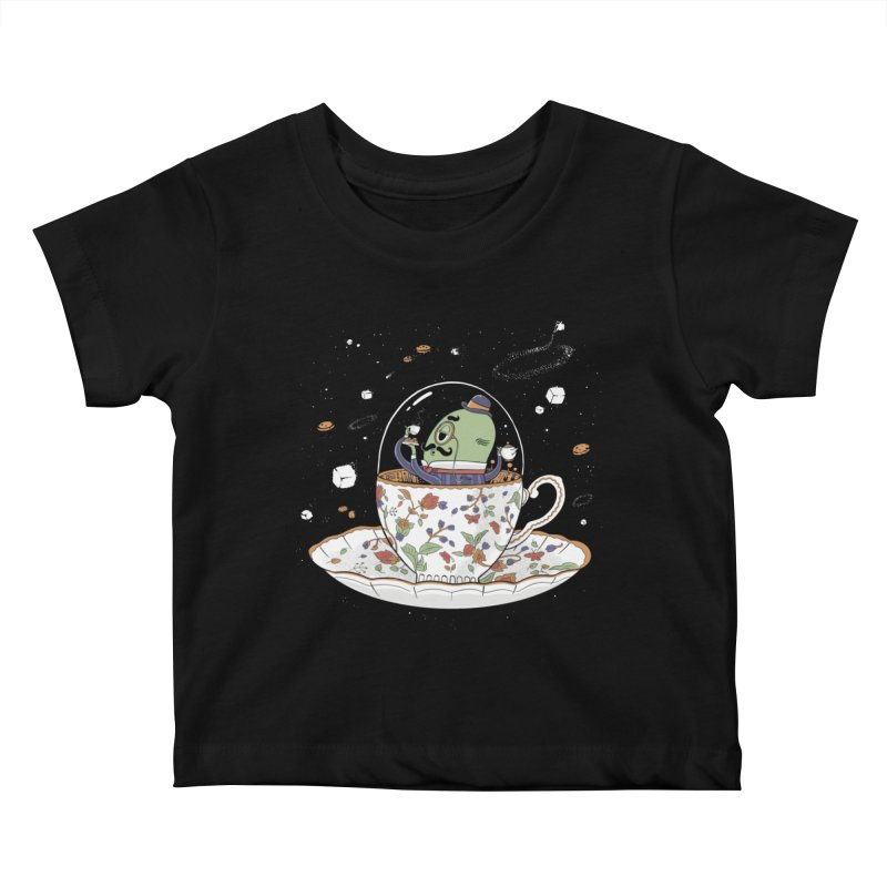 Unidentified Fancy Object Kids Baby T-Shirt by Made With Awesome
