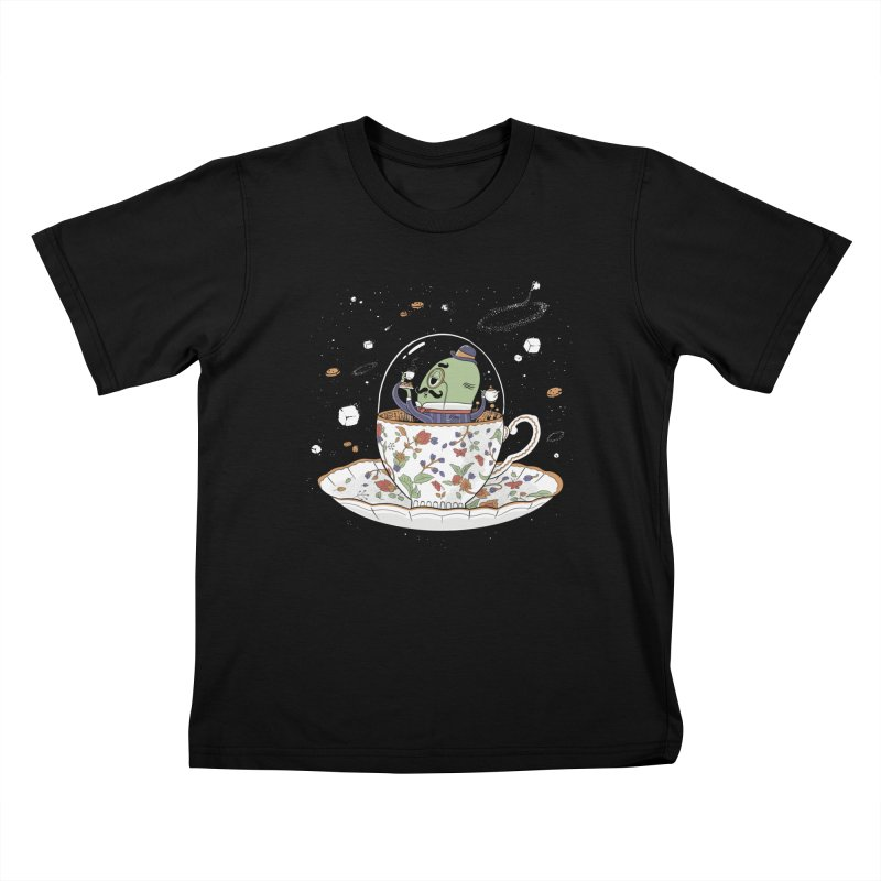 Unidentified Fancy Object Kids T-Shirt by Made With Awesome