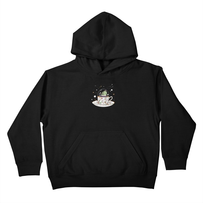 Unidentified Fancy Object Kids Pullover Hoody by Made With Awesome