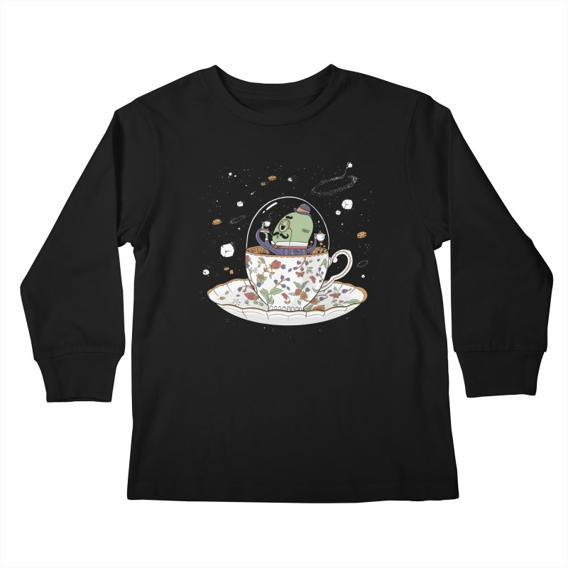 Unidentified Fancy Object Kids Longsleeve T-Shirt by Made With Awesome